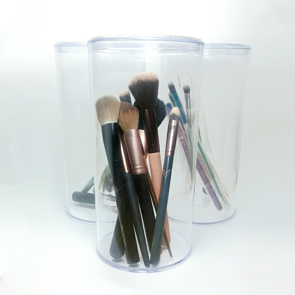 Accessories - Makeup, Cosmetics, Etc - 3 Pack Storage Containers